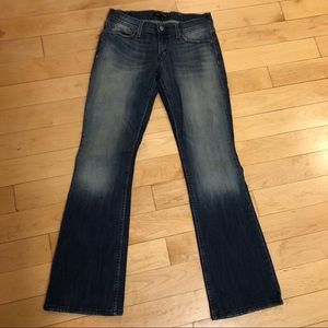 Levi's Super low jeans size 7